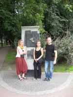 Gedenkstein jüdisches Ghetto Warschau